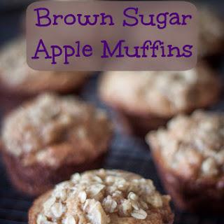 Brown Sugar Apple Muffins
