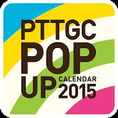 PTTGC POP UP Calendar 2015