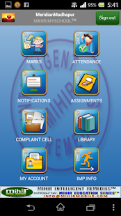 Meridian Mihir MySchool™ - screenshot thumbnail