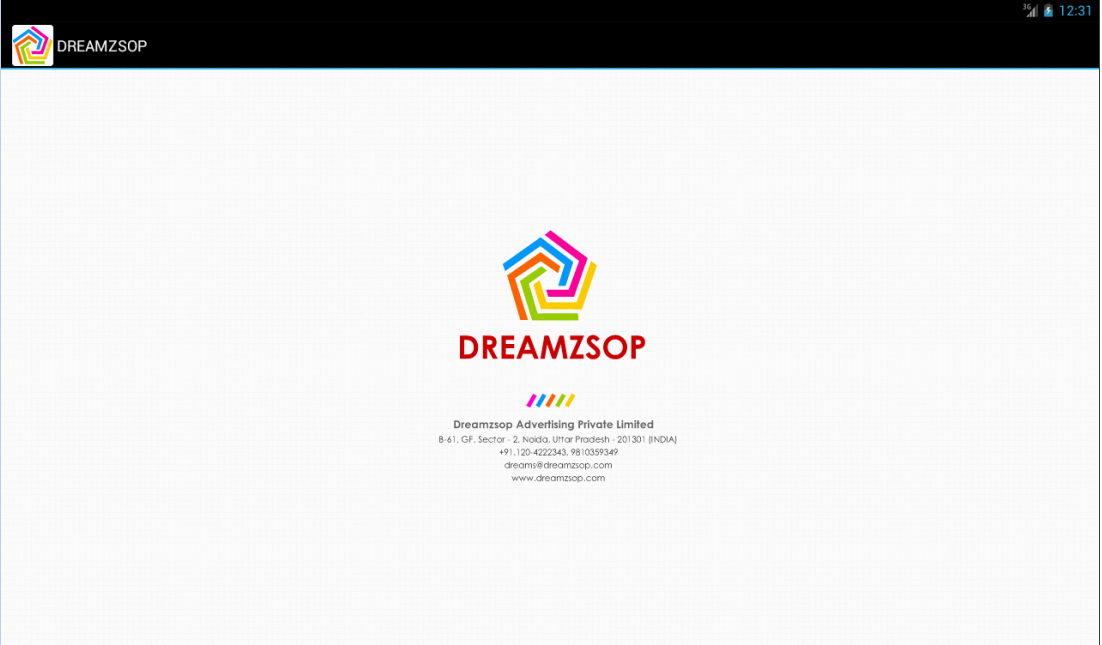 Dreamzsop Web/Apps Designing- screenshot