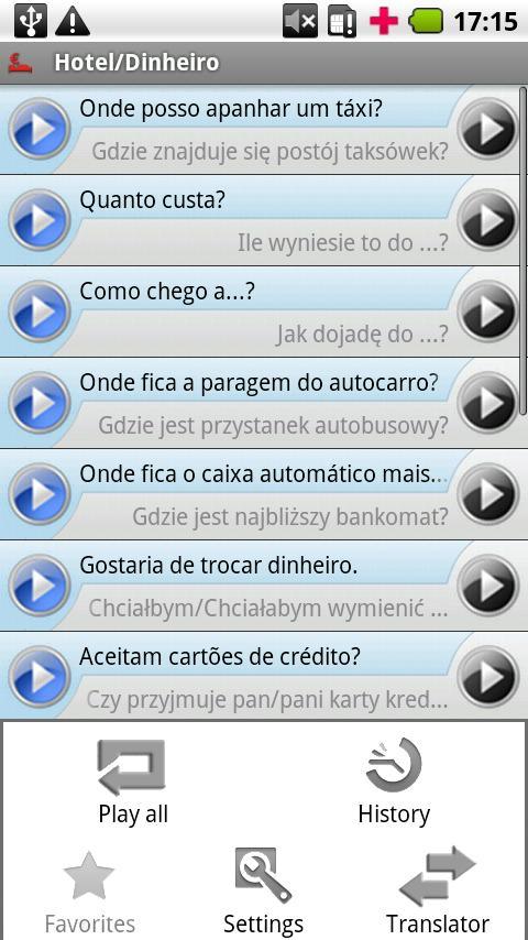 iSayHello Portuguese  - Polish- screenshot