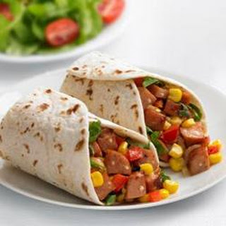 Johnsonville® Chipotle and Monterey Jack Cheese Chicken Sausage Wraps