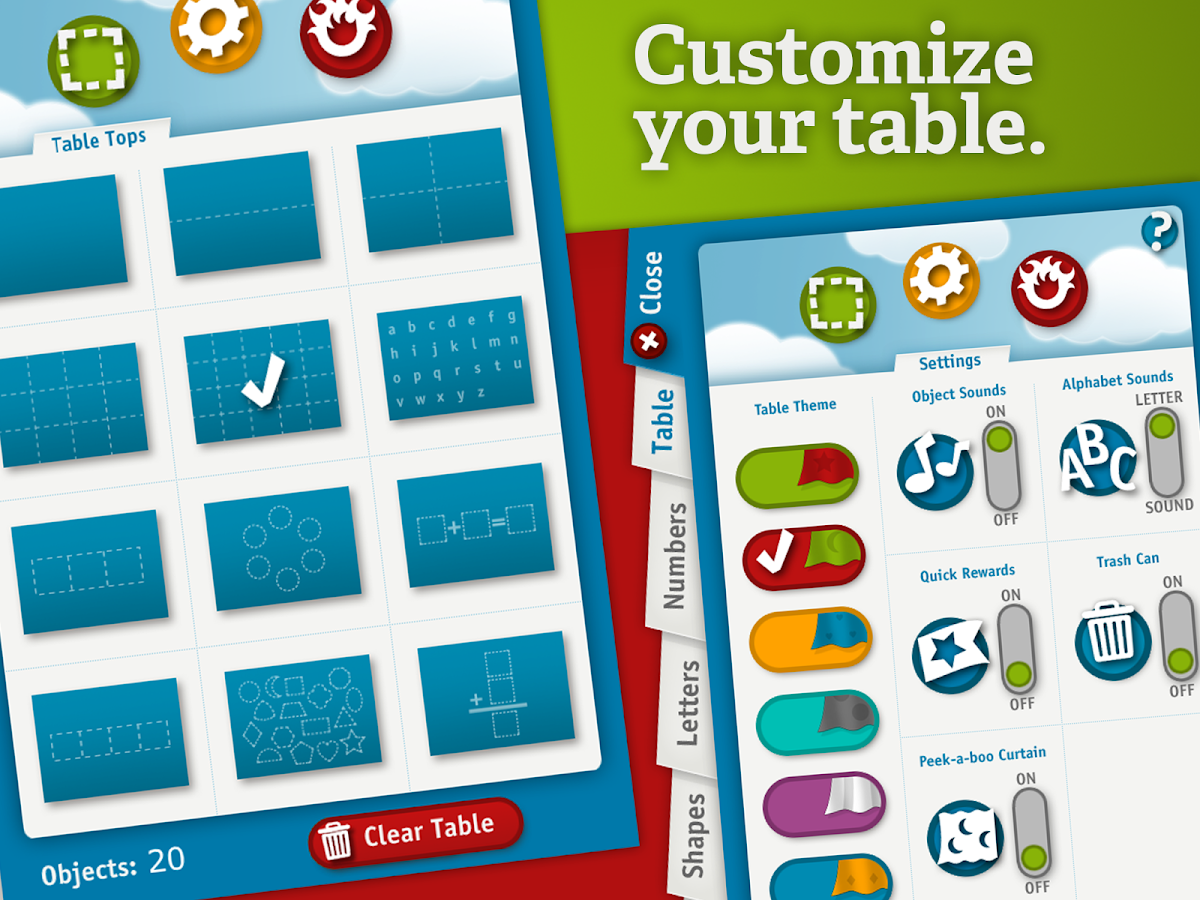 TableTots Teacher- screenshot