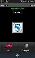 Screenshot of MoSIP Mobile Dialer
