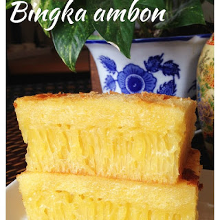 It Is Still Not Perfect Yet – Indonesian Honey Comb Cake–Bika Ambon or Bingka Ambon