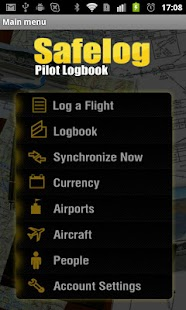 Safelog Pilot Logbook- screenshot thumbnail