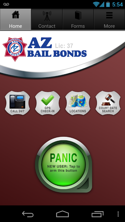 AZ Bail Bonds- screenshot