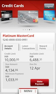 OCBC Bank - screenshot thumbnail