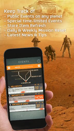 Destiny Public Events Tracker 3.3 screenshots 9