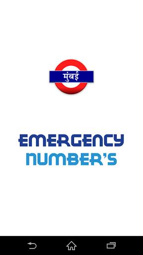 Mumbai Emergency Numbers