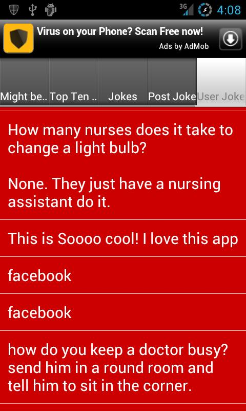 Nursing Jokes- screenshot