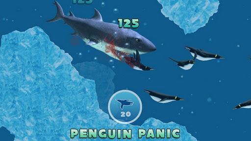 لعبة القرش للجالكسي Hungry Shark