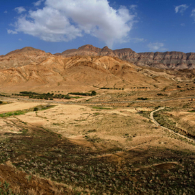 El Guettar - Tunisia by Ahmed Yousry - Landscapes Mountains & Hills ( nature, travel, panorama, deserts )
