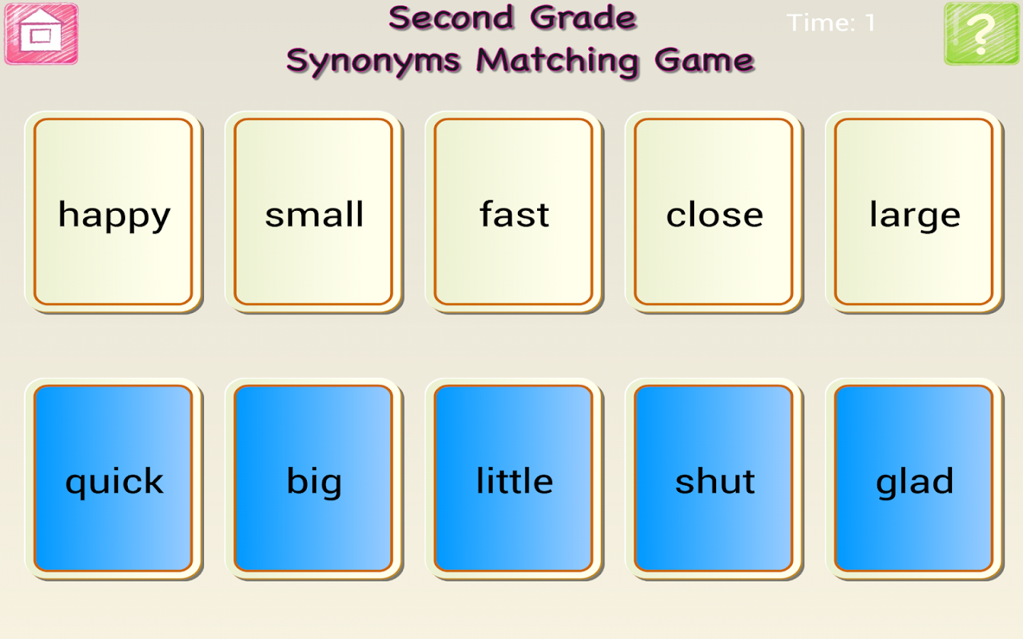 Worksheets Synonyms List For Kids english 1st 2nd grade synonyms android apps on google play screenshot