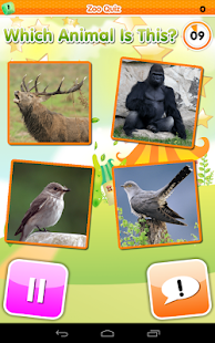 Zoo Quiz Animal Sounds- screenshot thumbnail