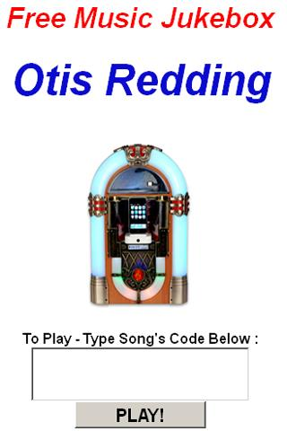 Otis Redding JukeBox - screenshot