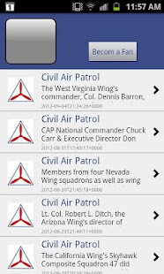 Civil Air Patrol for Android - screenshot thumbnail