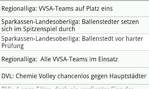 VVSA Volleyball Online- screenshot thumbnail