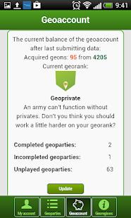 GEOFUN - geolocation games - screenshot thumbnail
