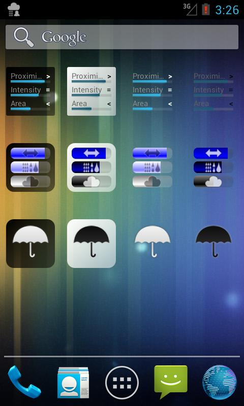 Rain Alarm OSM Pro - screenshot