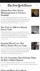 NYTimes - Breaking News Screenshot 1