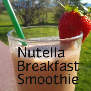 Nutella Breakfast Smoothie.