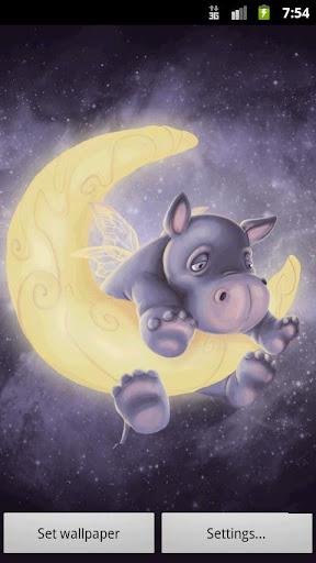 Sleepy Hippo Live Wallpaper FULL v1.1
