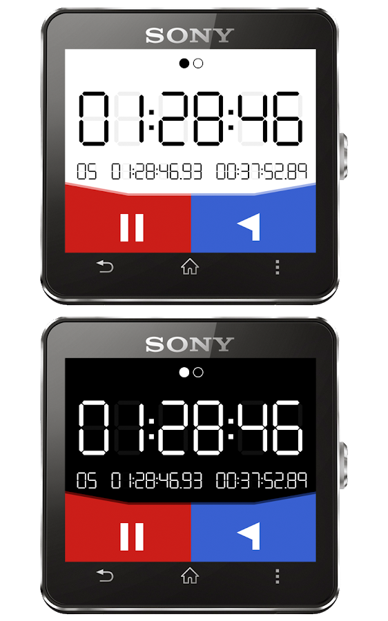 Stopwatch Plus for SW2- screenshot