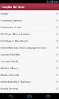 Screenshot of IU Health My Guide