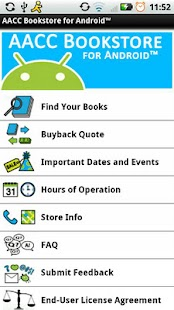 AACC Bookstore for Android™- screenshot thumbnail