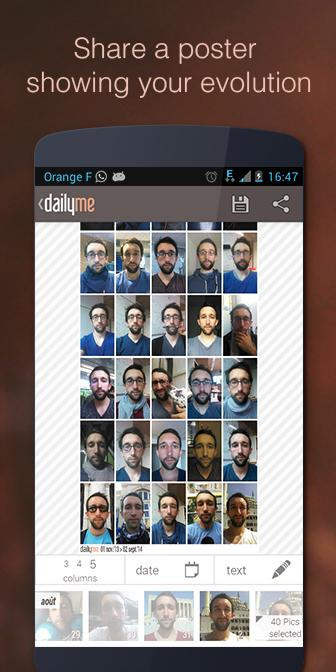 dailyme - more than a selfie- screenshot