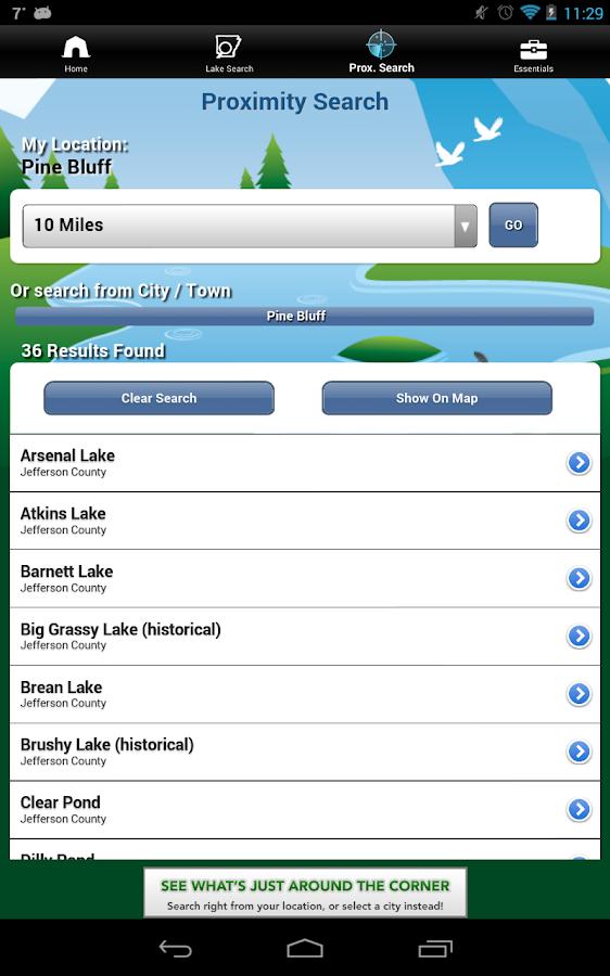 iFish Arkansas - screenshot