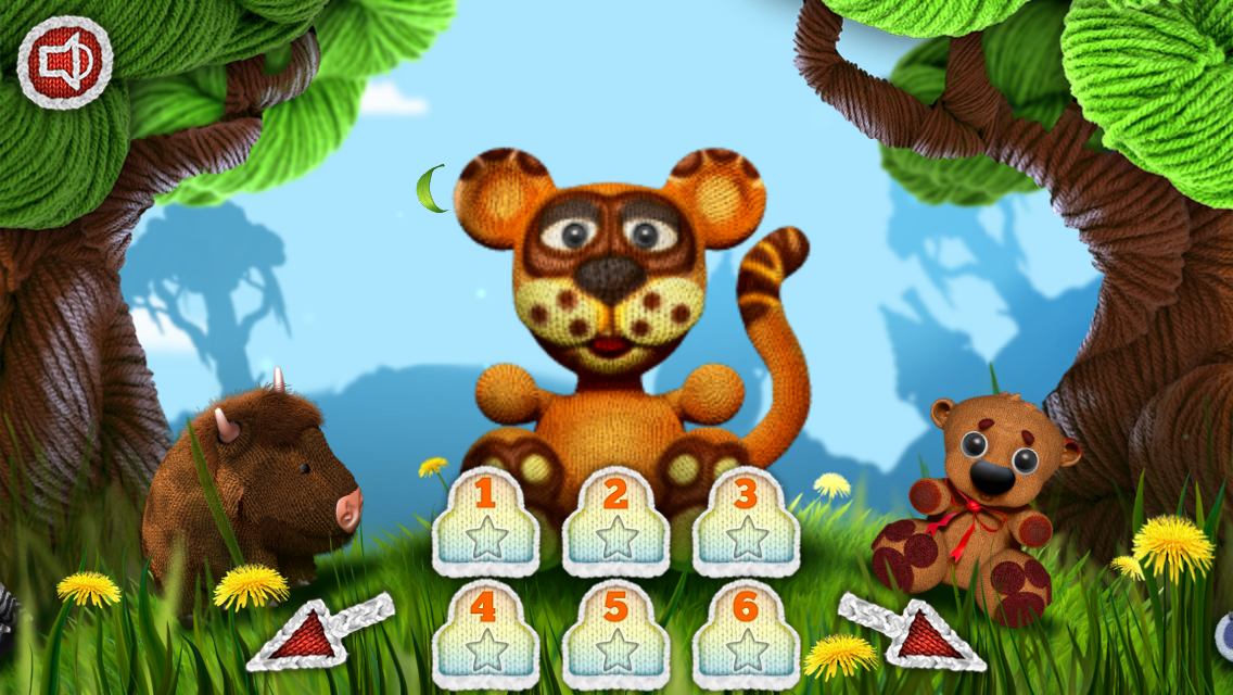 The Woolies - Puzzle for Kids- screenshot
