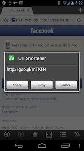 Boat URL Shortener Add-on - screenshot thumbnail