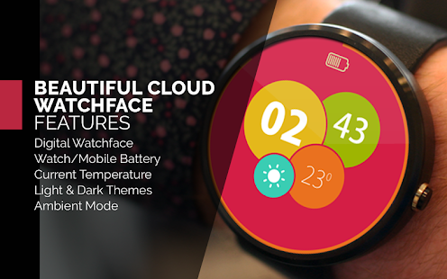 Bubbly Watch Face For Moto 360- screenshot thumbnail