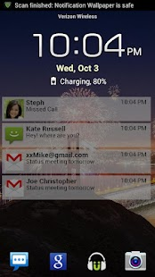 Lock Screen Notifications- screenshot thumbnail