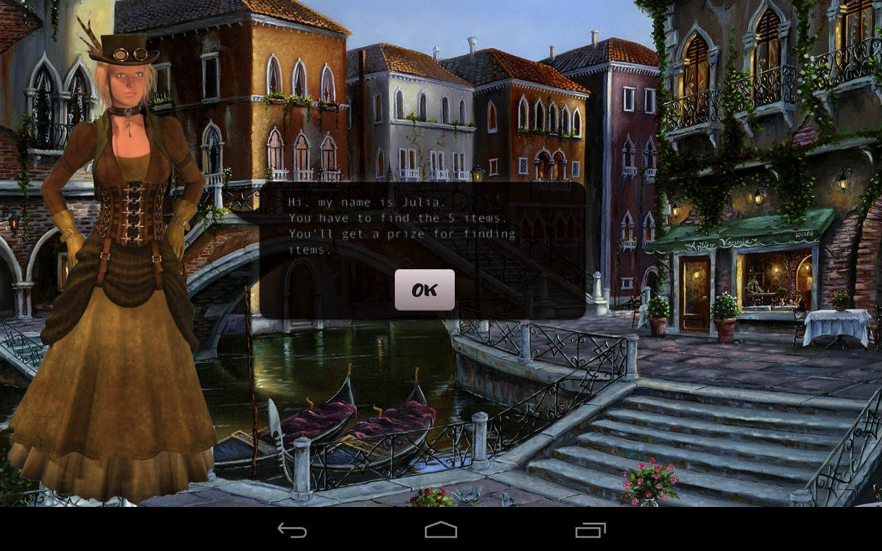 Hidden objects in Italy - screenshot