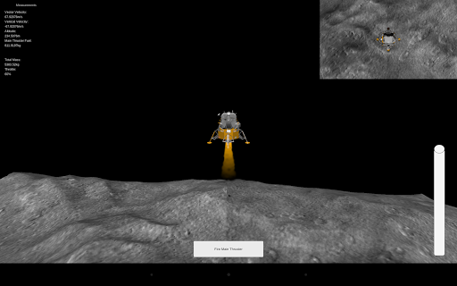 Lunar Module Landing Simulator