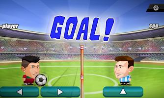 Screenshot of Head Football World Cup