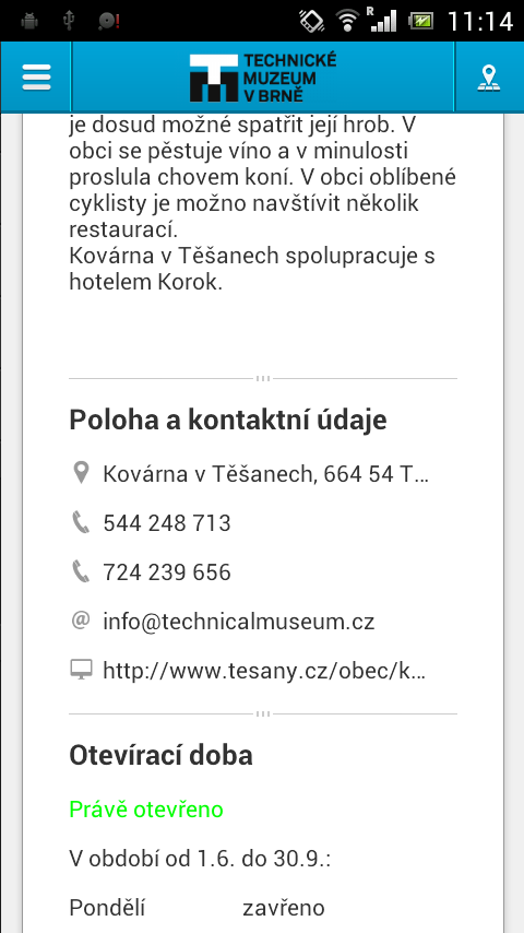 The Technical museum in Brno- screenshot