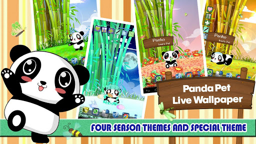 Panda Pet Live Wallpaper
