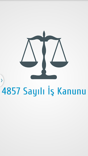 4857 Sayılı İş Kanunu