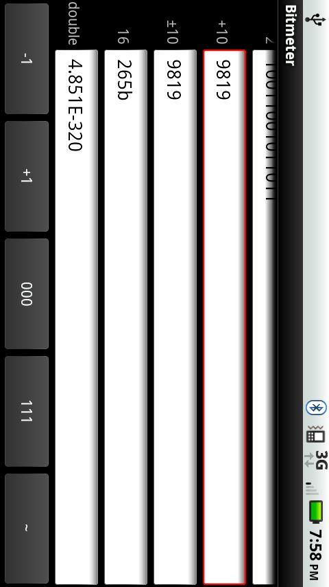 Bitmeter Free- screenshot