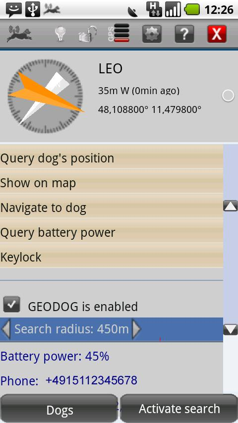 GEODOG™ Mobile Pro - screenshot