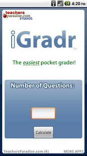 iGradr Teacher Pocket Grader - screenshot thumbnail