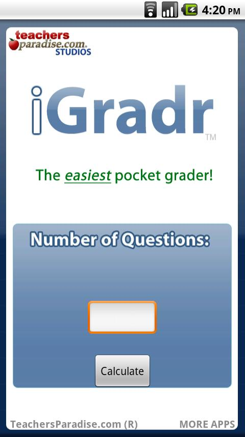 iGradr Teacher Pocket Grader- screenshot