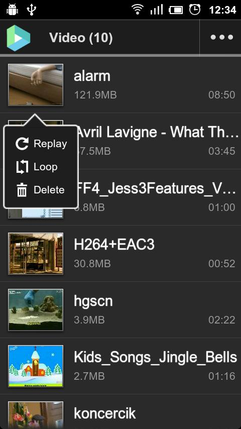 VPlayer Codec ARMv6 - screenshot