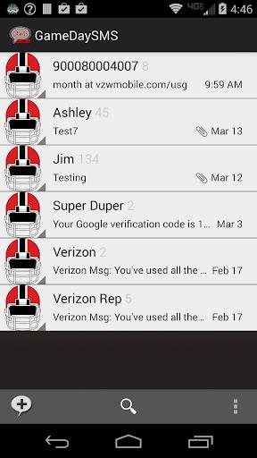 GameDay SMS - Georgia