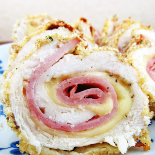 Easy Chicken Cordon Bleu Roll-ups