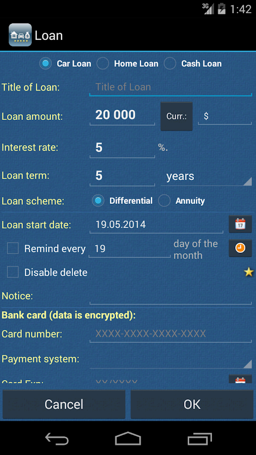 Credit Manager Pro- screenshot